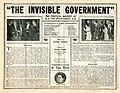 Release flier for THE INVISIBLE GOVERNMENT, 1913 (Page 2).jpg