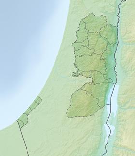 (Voir situation sur carte : Palestine (relief))