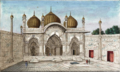 Reminiscences of Imperial Delhi Moti Masjid within the Palace.png