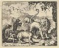 Renard is Accused by the Wolf and Several Animals from Hendrick van Alcmar's Renard The Fox MET DP837688.jpg