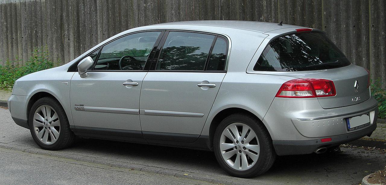 File:Renault Vel Satis 3.0 dCi V6 Facelift rear 20100613.jpg ...