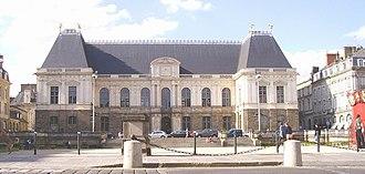 Bertrand de Molleville - Façade of the parlement de Bretagne