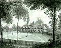 Representation de la maison et du domaine Holland par James Pattison Cockburn en 1827.jpg