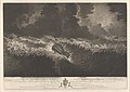 Representation of the Distressed Situation of His Majesty's Ships Ruby, Hector, Berwick and Bristol when Dismasted in the Great Hurricane October 6th 1780 RMG PY0733.jpg