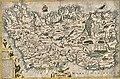 Reproduction map of Ireland by Pieter van den Keere 1591.jpeg
