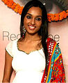 Photographie montrant Miss Inde Terre 2002, Reshmi Ghosh