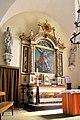 Retable dans le transept sud de l'église de la Sainte-Trinité de Créances.jpg