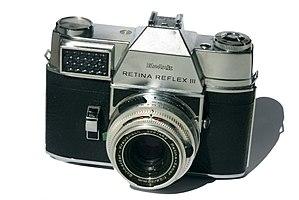 Kodak Retina Reflex - Retina Reflex III