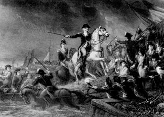 Military career of George Washington - Washington leads the retreat from Long Island