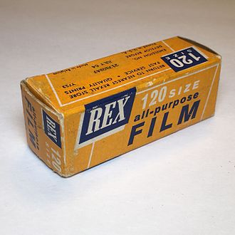 Rexall - Rexall Drug 120 Panchromatic High Speed Film (1960s)
