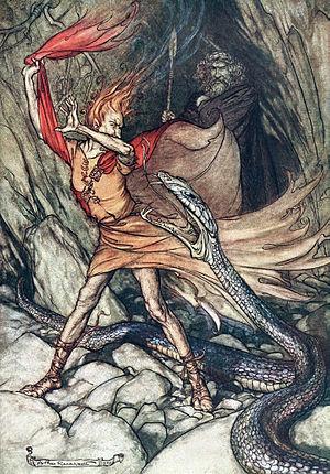 """Ohe! Ohe! / Horrible dragon, / Swallow m..."