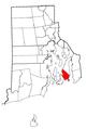 Rhode Island Municipalities Middletown Highlighted.png