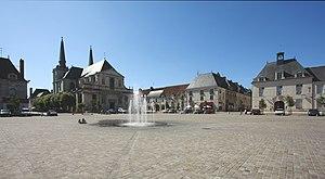 Richelieu, Indre-et-Loire - Place du Cardinal