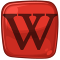 Rie Red-Black Icon Wikipedia.png