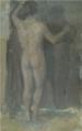 Rihard Jakopič - Stoječi moški akt II.png