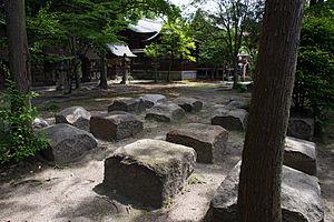 礎石's relation image