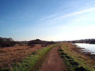River Colne, Essex - Route 51 between Colchester and Wivenhoe