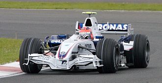 Robert Kubica - Kubica driving for BMW Sauber at the 2007 British Grand Prix