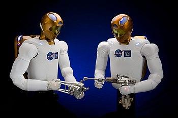 Robonaut 2 working