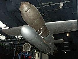 Rocket Henschel Hs 293 A front