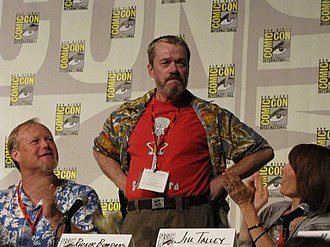 Bill Fagerbakke - Fagerbakke and Bumpass at the 2009 San Diego Comic-Con