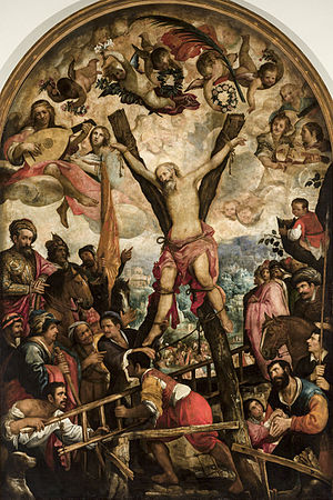 Juan de las Roelas - Martyrdom of Saint Andrew, now at the Museum of Fine Arts of Seville