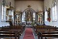 Roggenbeuren Pfarrkirche St Verena Blick zum Chor 01.jpg