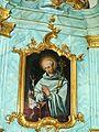 Rokokowy obraz w kościele pocysterskim w Koronowie.JPG