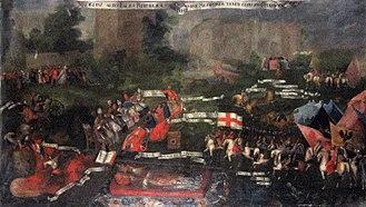 Zebrzydowski rebellion - 17th century depiction of the rebellion.