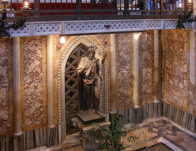Rom, Basilika San Giovanni in Laterano, Hl. Johannes der Täufer 1