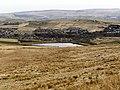 Rooley Moor, Looking towards Spring Mill Reservoir - geograph.org.uk - 1767430.jpg