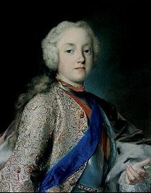 Friedrich Christian als junger Kurprinz, Porträt von Rosalba Carriera, um 1739 (Quelle: Wikimedia)