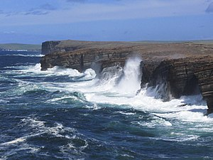 Nuckelavee - The tempestuous seas of Orkney are home to the nuckelavee.
