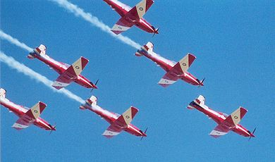 Roulettes display in Canberra, 2005