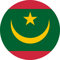Rounded flag of Mauritania (2017-Present).png