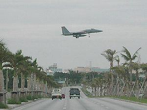 Kadena, Okinawa - Japan National Route 58 at Kadena