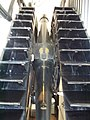 Royal Observatory Greenwich - Airy's transit telescope - cogs wheels (8128906140).jpg