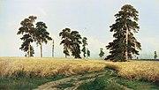 A rye field in Russia, as depicted by Ivan Shishkin in 1878.