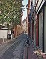 Rue Tolosane (Toulouse) - La fin de la rue, rue Croix Baragnon.jpg