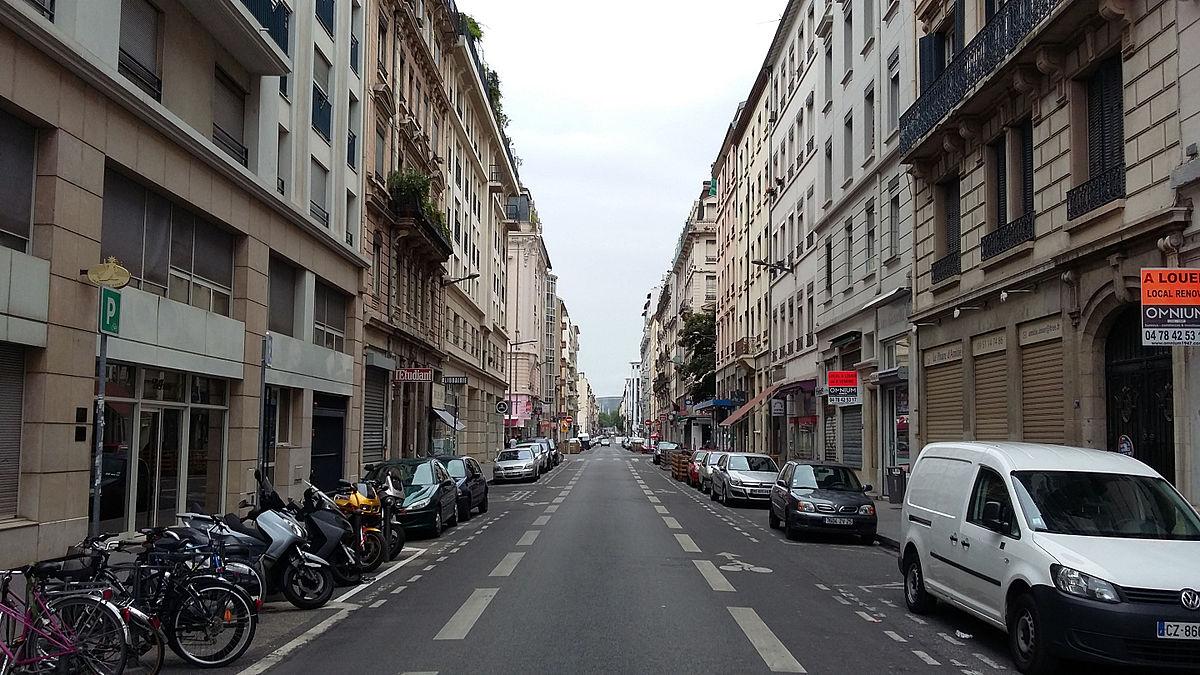 rue de marseille lyon wikip dia