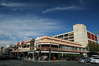 Rundle Street, Adelaide - Corner of Rundle and Frome Streets, 2008