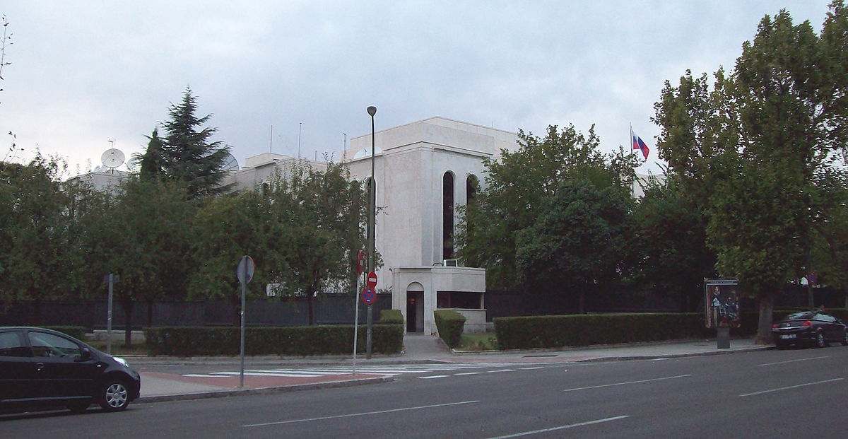 Russian Consulate in Madrid, Spain