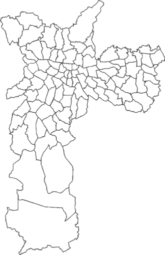 Subdivisions of São Paulo - Districts of the city of São Paulo
