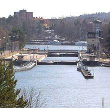Södertälje Canal - Wikipedia