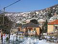 S. Eusebio - Nevicata 3-4 marzo 2005 - 017 - Piazza Chiesa di S. Eusebio e Castellaro visti da Passo al Maro.jpg