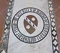 S. croce, tomba sul pavimento 90 benvenuti.JPG