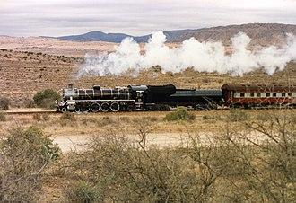 South African type MX tender - Image: SAR Class 19C 2439 (4 8 2) a