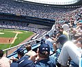 SCO OpenServer Release 6 Launch Event at Yankee Stadium attendees in stands June 2005.jpg