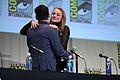 SDCC 2015 - Bryan Singer & Sophie Turner (19734312486).jpg