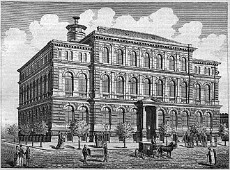 Semmelweis University - Image: SOTE Anatomical Institute 1878